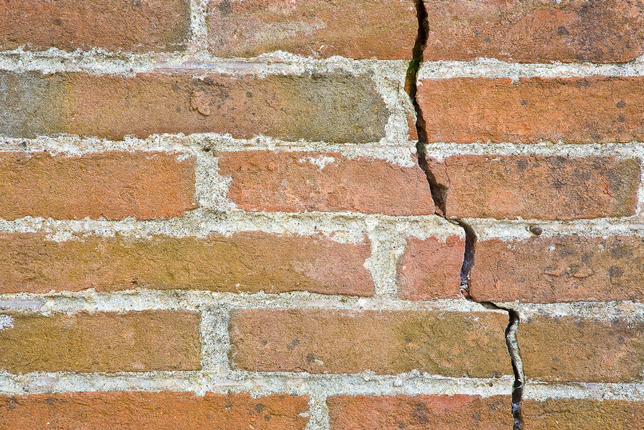 Cracked Walls Can Be A Sign Of Subsidence - Get Subsidence Insurance To Protect Your Home